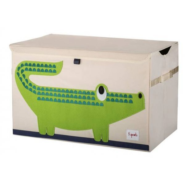 3sprouts Kids Toy Chest, Crocodile - Large Storage...