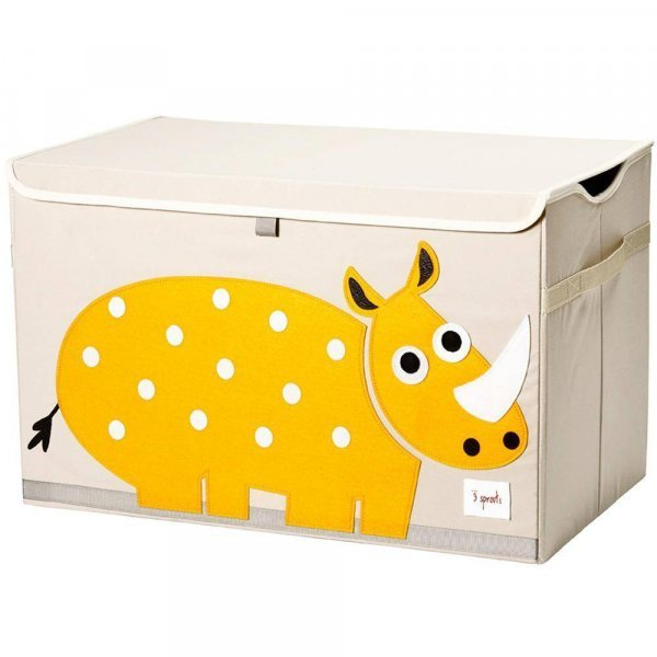 3sprouts Kids Toy Chest, Rhino - Large Storage for...