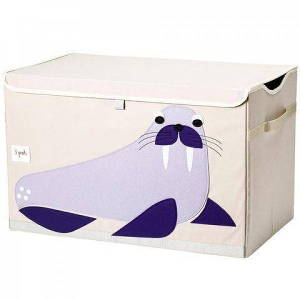 3sprouts Kids Toy Chest, Walrus - Large Storage fo...