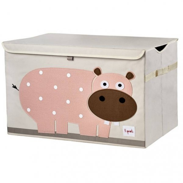 3sprouts Kids Toy Chest, Hippo - Large Storage for...