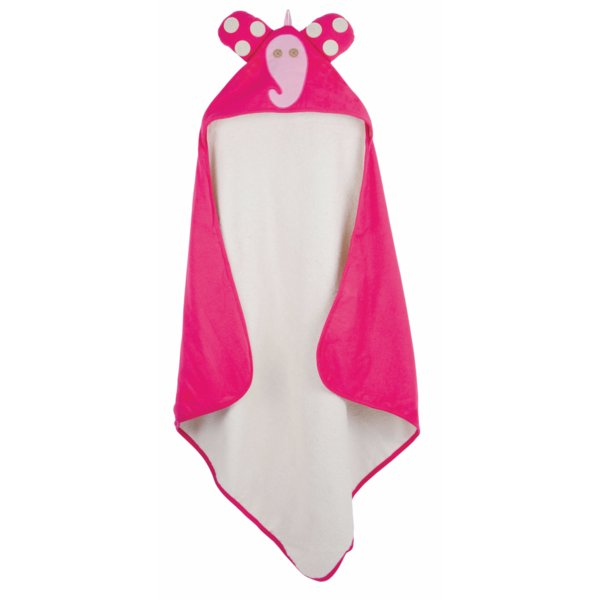 3Sprouts Hooded Towel, Elephant – Soft Cotton Ho...