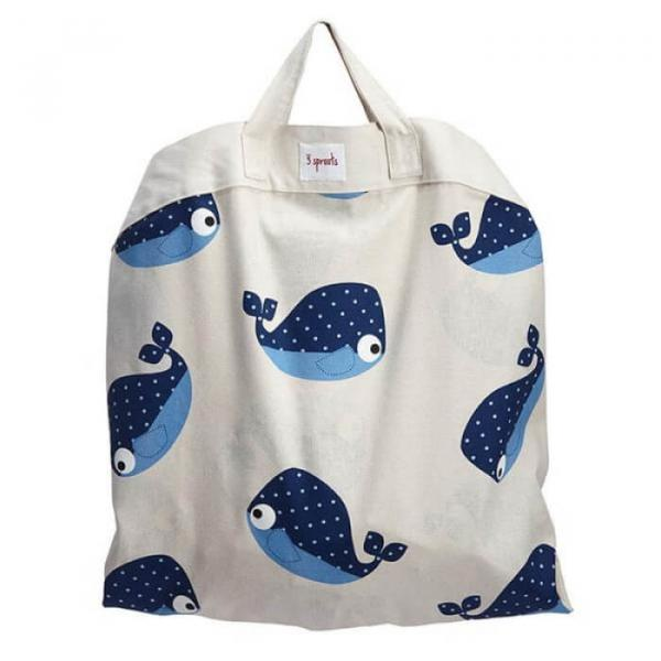 Play mat bag - Whale