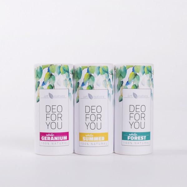 ArtNatura White Summer natural deodorant