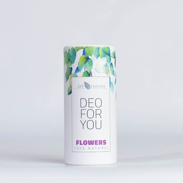Artnatura Flowers natural deodorant