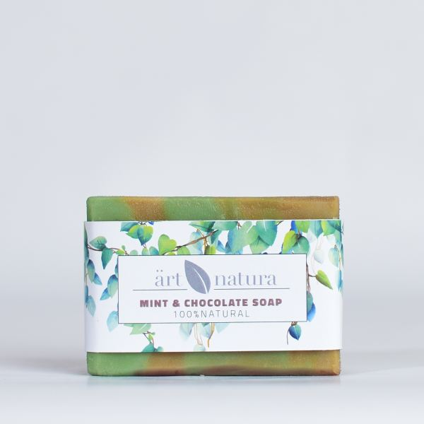 ArtNatura mint chocolate soap
