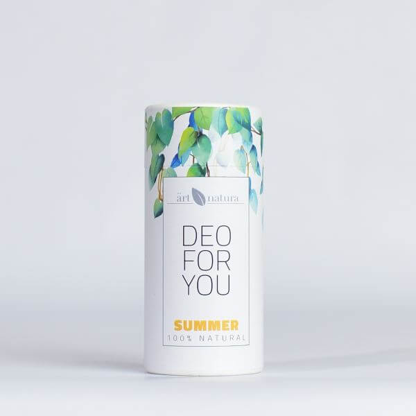 Artnatura summer natural deodorant