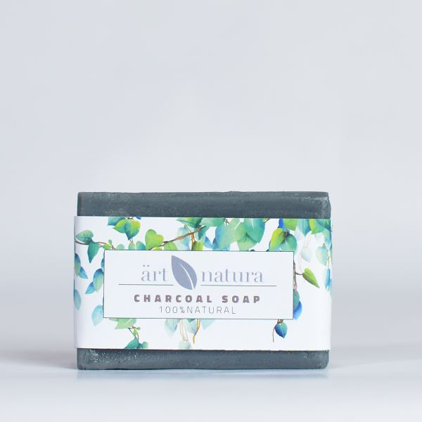 ArtNatura charchoal soap with tea tree oil