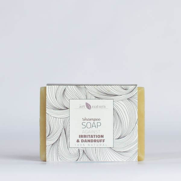 Artnatura shampoo soap against irritation and dandruff