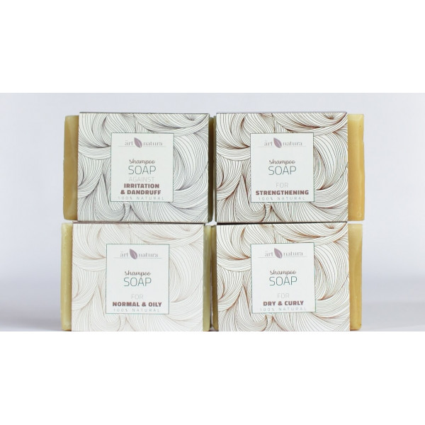 Artnatura shampoo soap for normal and oily hair