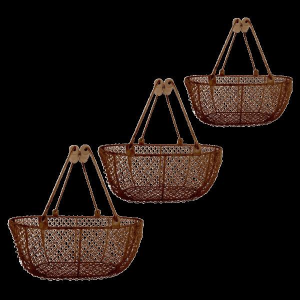 Wire basket oval S/M/L