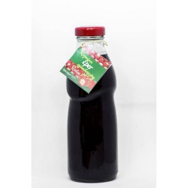 Artisan strawberry flavoured fruit syrup 500 ml - ...