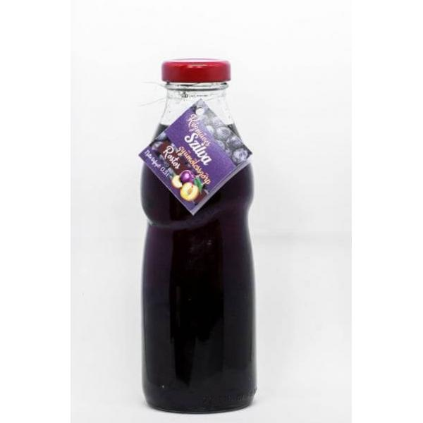 Artisan plum flavoured fruit syrup 500 ml - Kutyor...