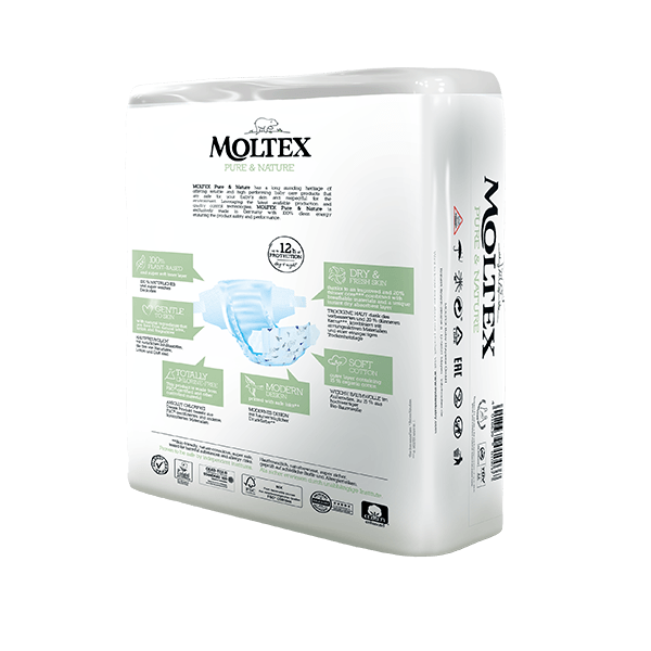 Moltex pure and nature Diapers XL 16-30 kg 21pcs