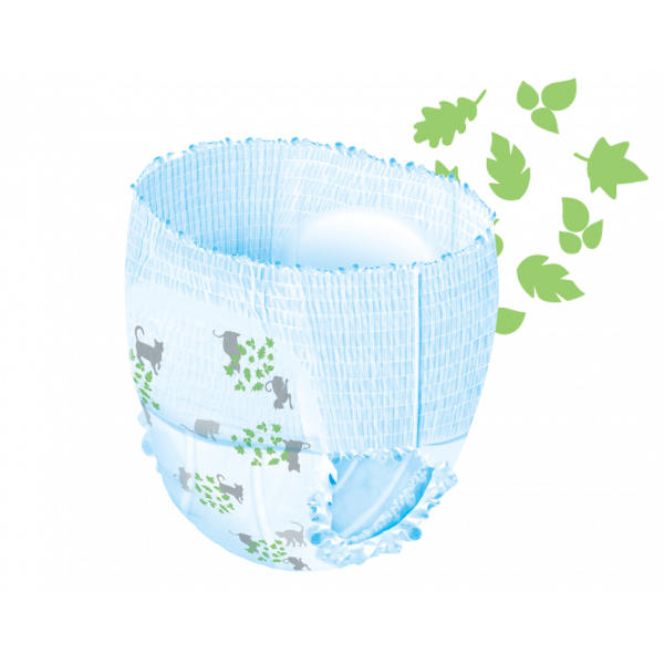 Moltex pure and nature diaper pants Junior 11-25kg