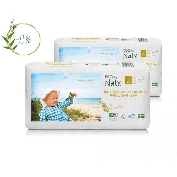 Naty 4-es biopelenka csomag akció 7-18 kg economy...