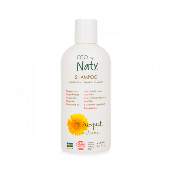 Naty sampon, 200 ml