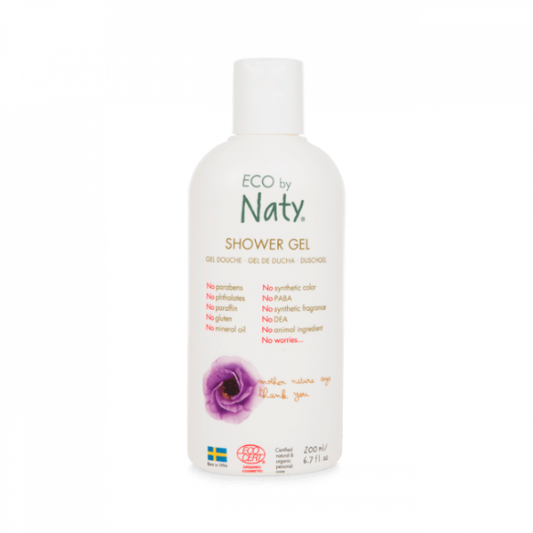 Naty Eco shower gel 200 ml