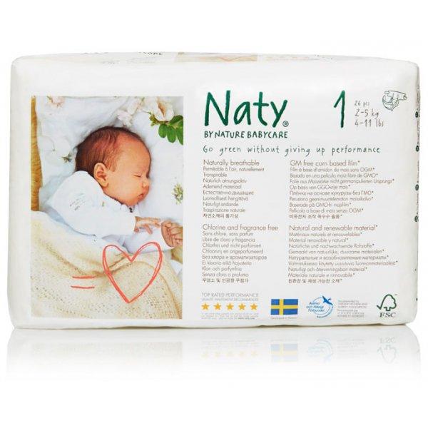 Naty® 1-es biopelenka 2-5 kg (4 csomag! -20% kedv...