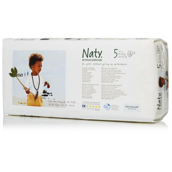 Naty® 5-ös biopelenka 11-25 kg, ECONOMY PACK 42 ...