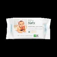 Naty® baba törlőkendő - enyhén illatosított ...