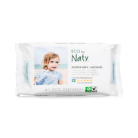 Naty unscented sensitive wipes (56 pcs)