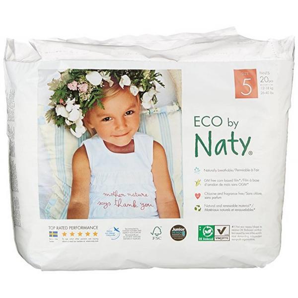 Naty bio nadrágpelenka 5-ös méret, 20 db (12-18...