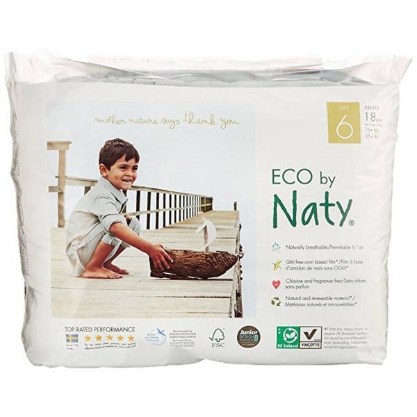 Naty bio nadrágpelenka 6-os méret, 18 db (16+ kg)