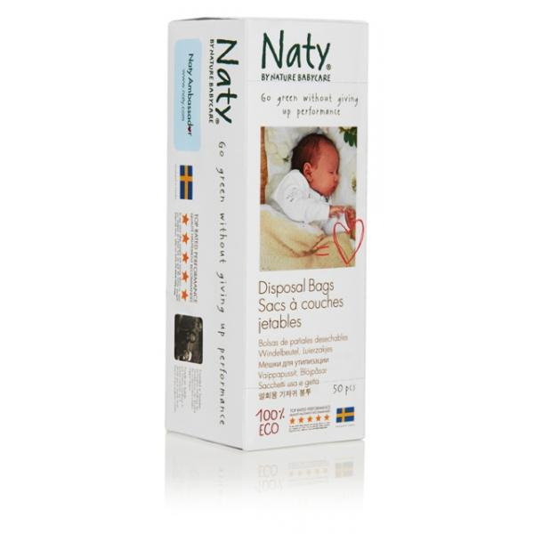 Naty disposable bags for used diapers