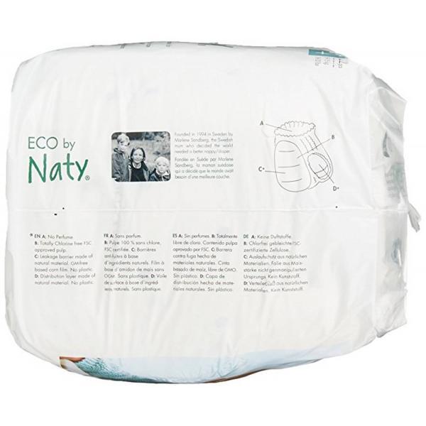 Naty bio nadrágpelenka 4-es méret, 36 db (8-15 k...