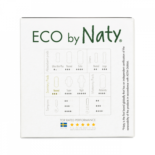 Naty® Thin Pads - Normal