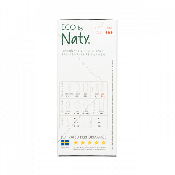 Naty Panty Liners Large