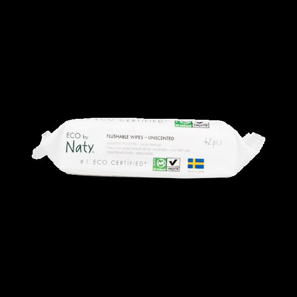 Naty® baba törlőkendő wc-be dobható