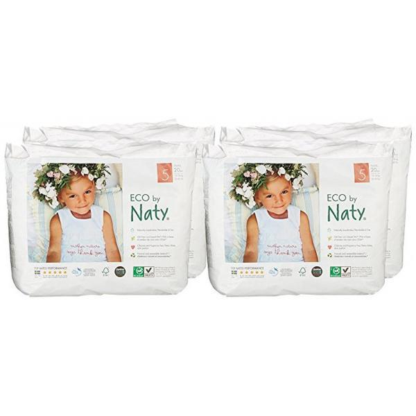 Naty bio nadrágpelenka 5-ös méret, 20 db (12-18 kg)