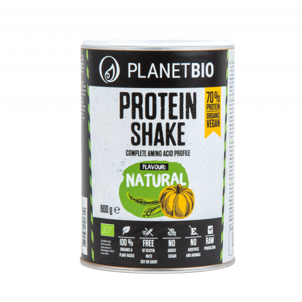 VEGAN PROTEIN BLEND – NATURAL 600 g
