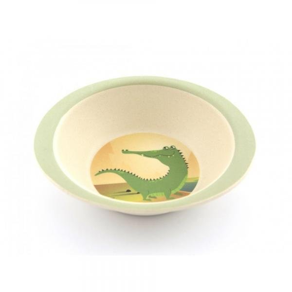Bamboo dish set - Crocodile