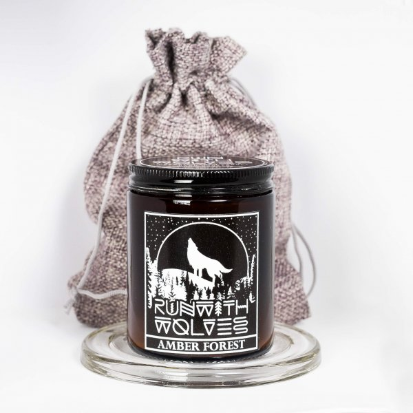 Run with wolves candles- 4 pack