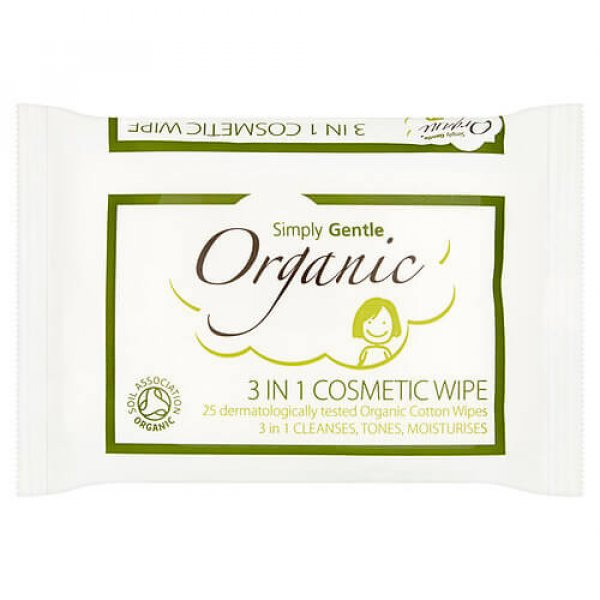 Simply Gentle 3 in 1 Cosmetic Wipe