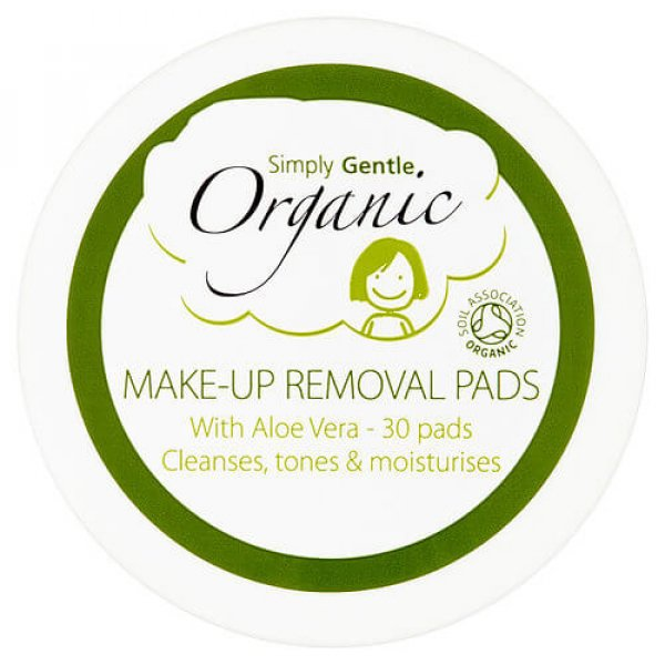 Simply Gentle Organic Make-Up Removal Pads