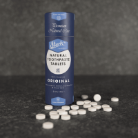 Natural Toothpaste Tablets Original With Fluoride
