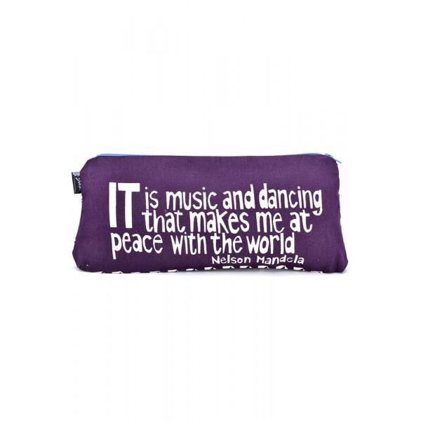 Mandela Pouch Purple
