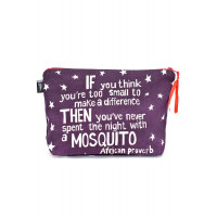 African proverb Purse Purple