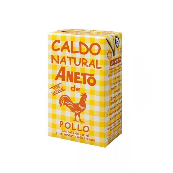 ANETO Chicken Broth - Csirkehús-alaplé, 1 L