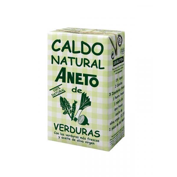 ANETO Vegetables Broth - Zöldség-alaplé, 1 L