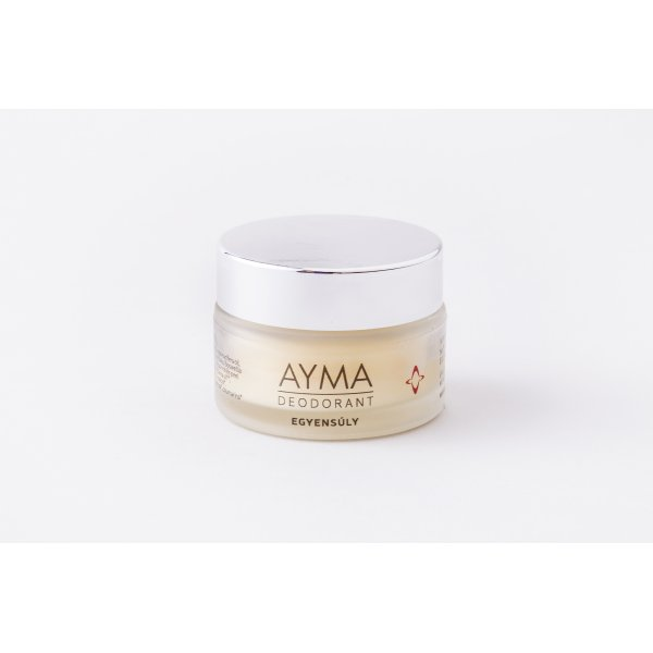 AYMA FEMALE TRIO • BALANCE deodorant cream 30g