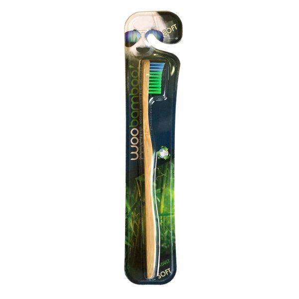 Bambusz fogkefe felnőtteknek-Woobamboo-soft