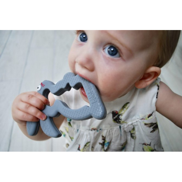 Belo and Me Teething Bunny Grey