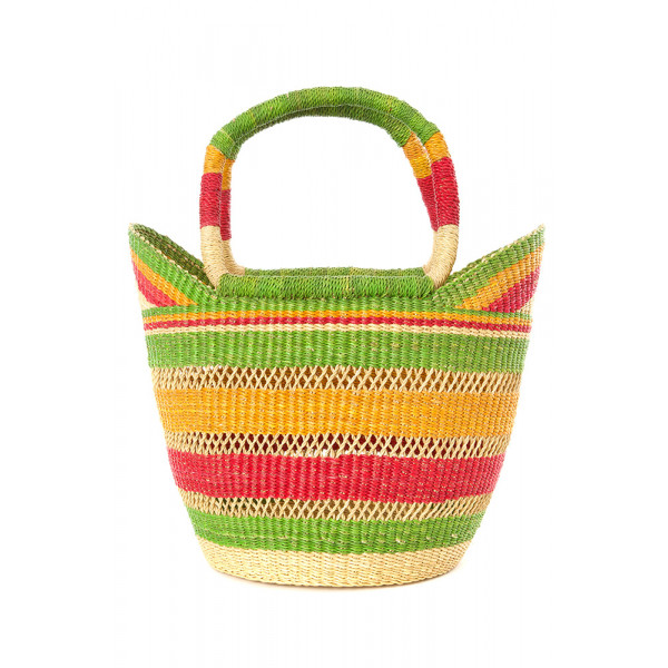 Petite Hand Woven Juicy Fruit Shopper from Ghana