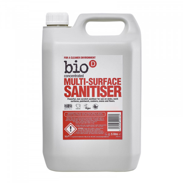 Bio-D Multi surface sanitiser 5l