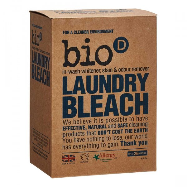 Bio-D Eco-friendly Laundry Bleach with active oxygen 0.4kg