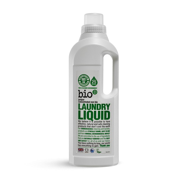 Bio-D Eco-friendly Laundry Liquid with Fresh Juniper 1l